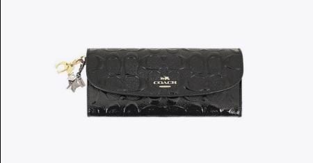 ส่วนลด Shopee ลดราคา กระเป๋าสตางค์ แบรนด์ Coach รุ่น F23397 IML7C