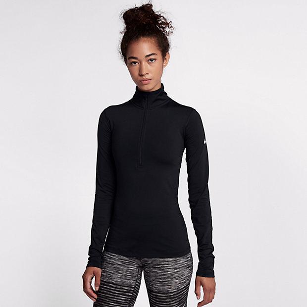 เสื้้อผู้หญิง Nike Pro Warm #ชุดดำ Picture