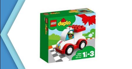 LEGO ตัวต่อเสริมทักษะ ดูโปล มาย เฟิร์ส เรซ คาร์ รุ่น 10860 Picture