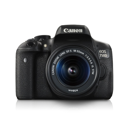 Promotion Canon Camera กล้องดิจิตอล EOS 750D Kit (EF-S18-55mm IS STM) Picture