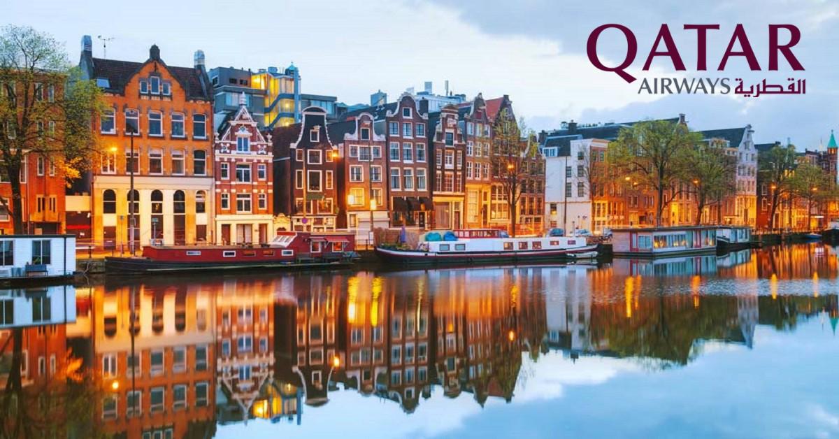 เที่ยวบิน ไป-กลับ กรุงเทพฯ - อัมสเตอร์ดัม ราคาถูก