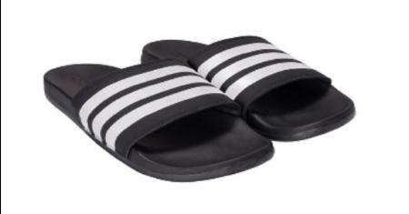 ADIDAS : Adilette Cloudfoam Plus Mono Slides (รองเท้าแตะ นุ่มมากกก) Picture