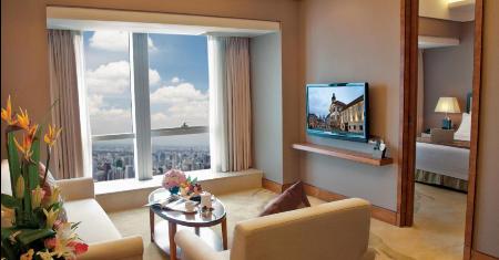 โรงแรม Vertical City Hotel กวางโจว