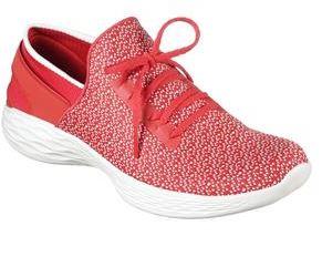 SKECHERS รองเท้าลำลองผู้หญิง สีแดง Picture