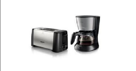 Philips ชุดเครื่องต้มกาแฟและเครื่องปิ้งขนมปัง Picture
