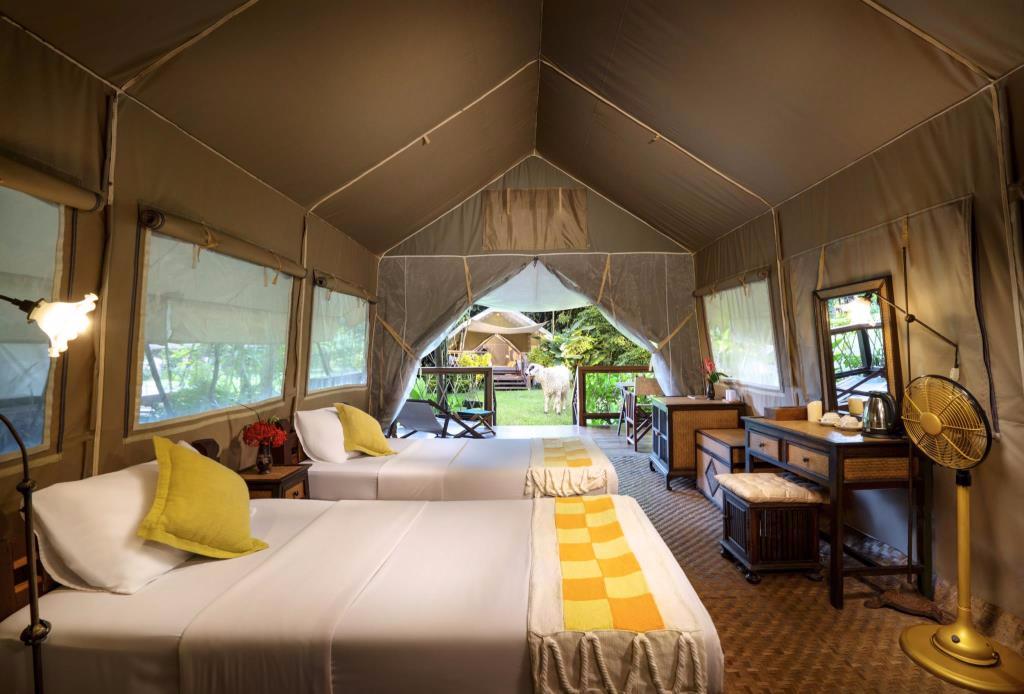 Hintok River Camp @ Hell Fire Pass Hotel, Sai Yok, Kanchanaburi, Thailand (โรงแรมหินตก ริเวอร์ แคมป์ แอท เฮลล์ ไฟร์ พาส, ไทรโยก, กาญจนบุรี, ประเทศไทย)