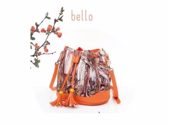 กระเป๋าทรงขนมจีบ  Bello