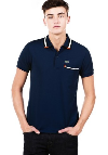 LACOSTE เสื้อโปโล แขนสั้น - Regular Fit RIBBED COLLAR POLO Picture