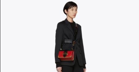 กระเป๋า Prada รุ่น Colorblocked Cahier Bag Picture