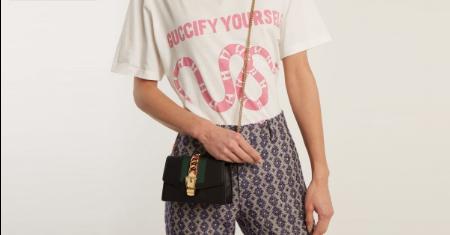 กระเป๋า Gucci รุ่น Black Supermini Sylvie Chain Bag  Picture