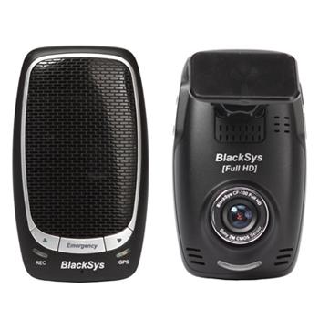 Blacksys กล้องติดรถยนต์เกาหลีหน้า-หลัง Full-HD CF-100