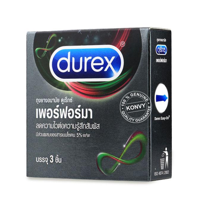 Durex Performa Condom 52.5mm (3pcs) Picture
